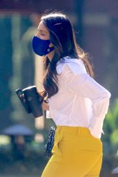 Eiza Gonzalez Arriving for a Meeting at DreamWorks Studios in LA 02/08/2021