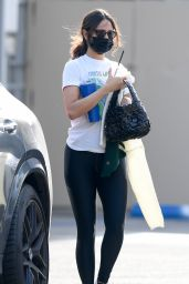 Eiza Gonzalez - Leaving Gym in LA 02/02/2021