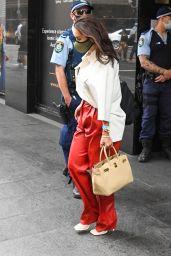 Elena Ora - Leaving Hotel in Sydney 02/15/2021