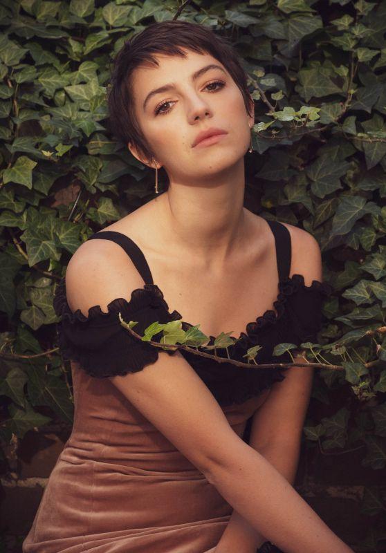 Ella Hunt - Photoshoot for ROSE & IVY January 2021