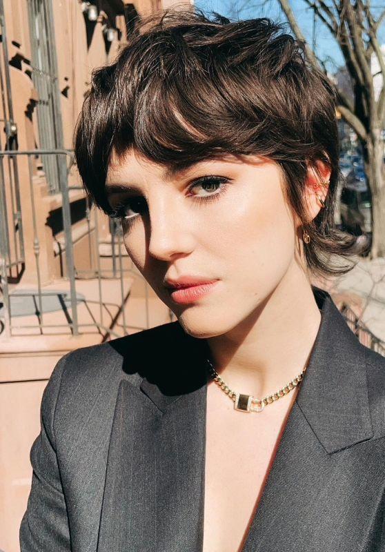 Ella Hunt - Photoshoot for Salvatore Ferragamo 2021
