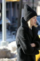 Ella Rattigan - Heading to an DKNY Photoshoot in NY 02/10/2021