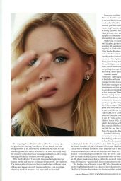 Ellie Bamber - Country & Town House Magazine January/February 2021 Issue