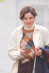 Emma Corrin - Out in Primrose Hill 02/06/2021