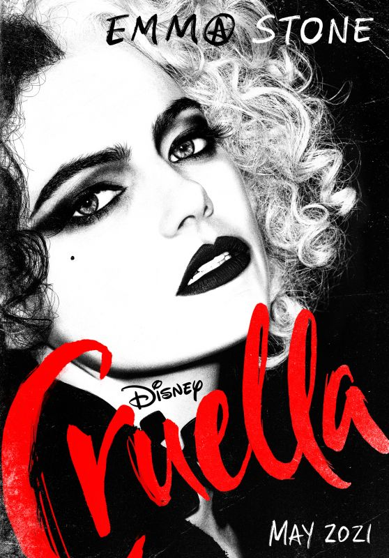 """Emma Stone - """"Cruella"""" Poster & Photo"""