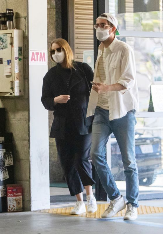 Emma Stone With Dave McCary - Los Angeles 02/26/2021