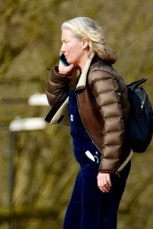 Emma Thompson in Casual Outfit - London 02/24/2021
