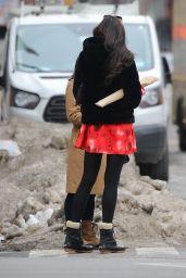 Famke Janssen Cute Street Style - New York 02/15/2021