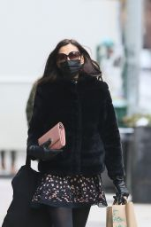 Famke Janssen - Running Errands in New York 02/22/2021