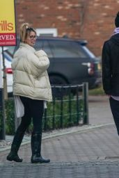 Ferne McCann - Out in Essex 02/15/2021