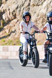 Florence Pugh - Biking in LA 02/20/2021