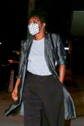 Gabrielle Union Night Out Style - Craigs in West Hollywood 02/07/2021