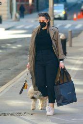 Georgina Burke - Out in New York 02/24/2021