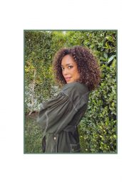 Gina Torres - Photoshoot for ROSE & IVY February 2021