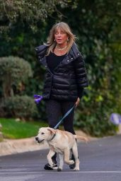 Goldie Hawn and Kurt Russell in Their Brentwood Neighborhood 02/15/2021