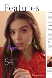 Hailee Steinfeld - Boston Common February 2021 Issue