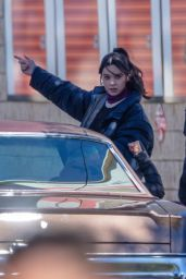 "Hailee Steinfeld - ""Hawkeye"" Set in Atlanta 02/20/2021"