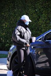 Hailey Bieber - Out in West Hollywood 02/12/2021