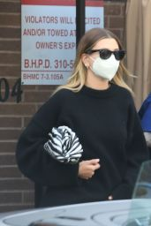 Hailey Rhode Bieber and Justin Bieber - Running Errands in Beverly Hills 02/01/2021