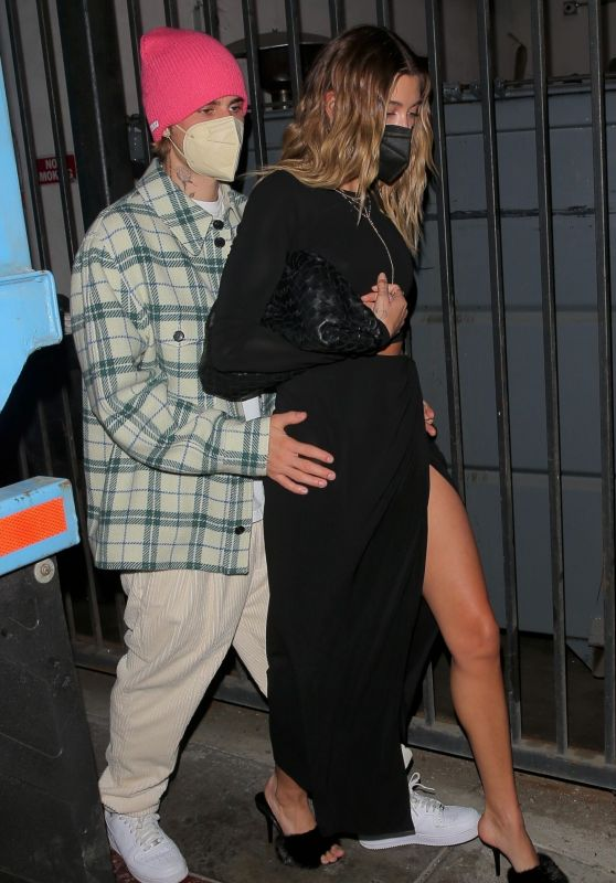 Hailey Rhode Bieber - Leaving Catch in West Hollywood 02/26/2021