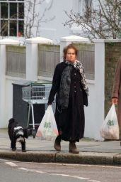 Helena Bonham Carter - Running Errands in London 02/21/2021