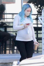 Hilary Duff in Casual Outfit - LA 02/21/2021