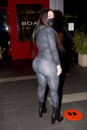 Hrush Achemyan Night Out at BOA Steakhouse in New York 02/10/2021
