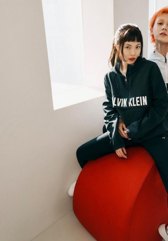 Hyuna and DAWN - Calvin Klein 2021