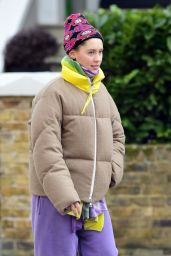 Iris Law - Out in London 02/12/2021