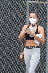 Isabela Merced - Leaving the Gym in LA 02/09/2021