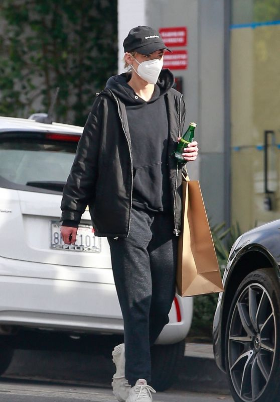 Jaime King in Comfy Clothes - Los Angeles 02/15/2021