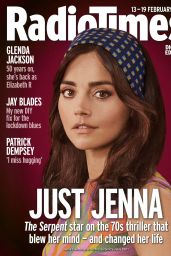 Jenna Coleman - Radio Times Magazine 13/19 February 2021