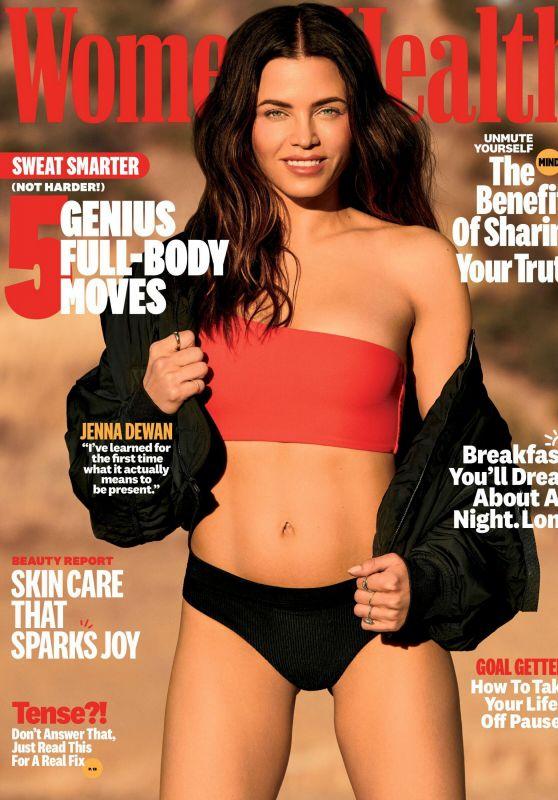 Jenna Dewan - Women's Health March 2021 Issue
