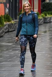 Jenni Falconer in Spandex - London 02/16/2021