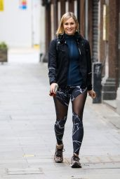 Jenni Falconer - Out in London 02/22/2021