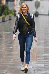 Jenni Falconer Street Style - London 02/15/2021