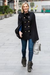 Jenni Falconer Street Style - London 02/19/2021