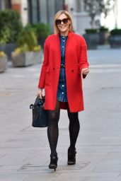 Jenni Falconer Street Style - London 02/26/2021