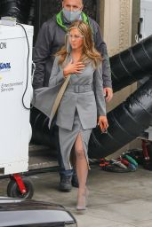 "Jennifer Aniston - ""The Morning Show"" Filming in Los Angeles 02/09/2021"