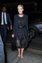 Jennifer Lawrence Night Out Style - Manhattan 01/30/2021