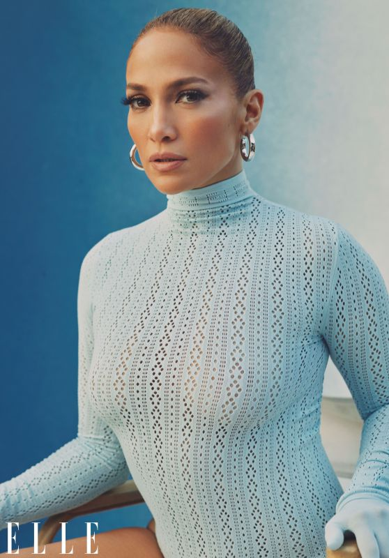 Jennifer Lopez - ELLE February 2021 Photos