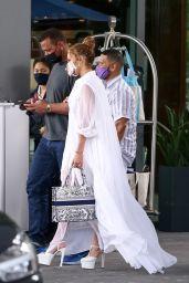 Jennifer Lopez - Mr. C Coconut Grove in Miami 02/10/2021