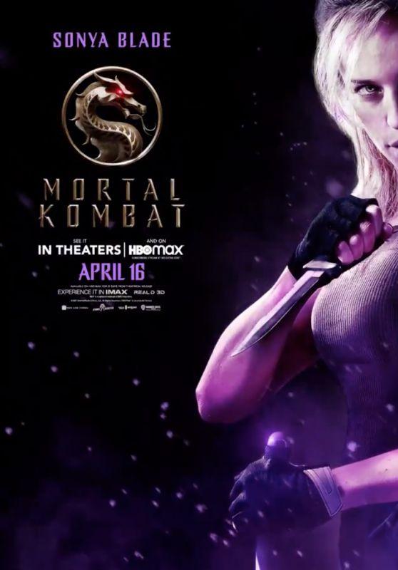 "Jessica McNamee - ""Mortal Kombat"" Promo Poster"
