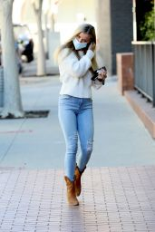 Joanna Krupa in Tight Jeans and Cowboy Boots - Miami 02/23/2021