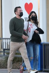 Jordana Brewster and Mason Morfit - Out in Malibu 02/25/2021