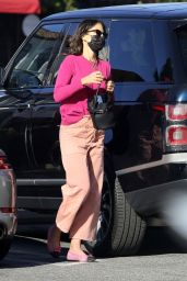 Jordana Brewster - Out in Los Angeles 02/14/2021