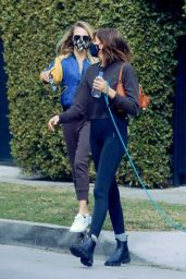 Kaia Gerber and Cara Delevingne - Out in LA 02/15/2021