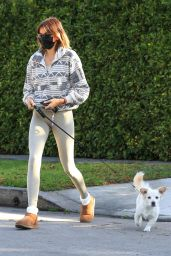 Kaia Gerber at Alfred Coffee in West Hollywood 02/02/2021