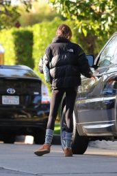 Kaia Gerber - Heads to Workout in LA 02/26/2021