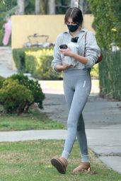 Kaia Gerber in Casual Outfit - Los Angeles 02/11/2021